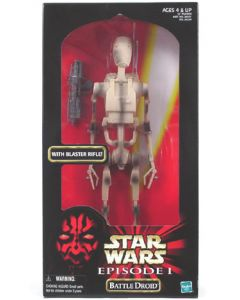 "Episode I 12"" Boxed Battle Droid"