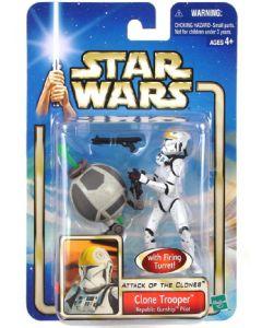 Attack of the Clones Carded Clone Trooper Republic Gunship Pilot