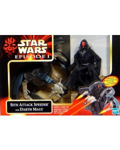 Episode I Vehicle Boxed Sith Attack Speeder with Darth Maul