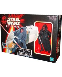 Episode I Vehicle Boxed Sith Speeder And Darth Maul