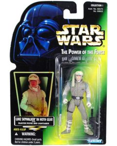 POTF2 Green Card Luke Skywalker (Hoth Gear)