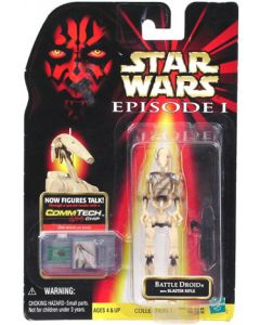 Episode I Carded Battle Droid (slash on chest)