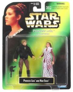Power of the Force 2 Leia Collection Leia with Han