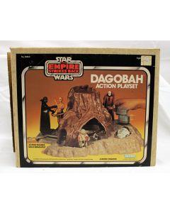 Vintage Star Wars Boxed Dagobah Playset MIB C8