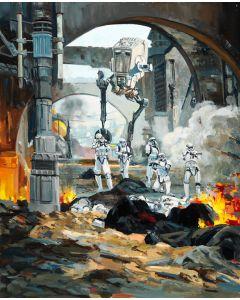 "Licensed Artwork ""Danger Around"" - Giclee on Canvas- (by Line' Tutwiler)"