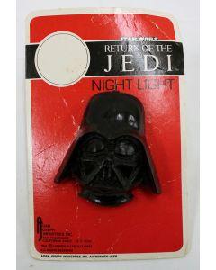 Vintage  Star Wars ROTJ Accessories Carded ROTJ Darth Vader Night Light - C7