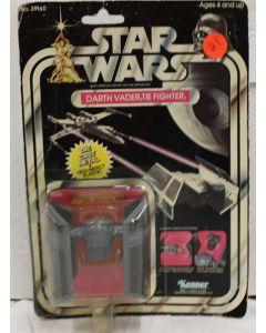 Vintage Star Wars DieCast Carded Darth Vader TIE Fighter - C1