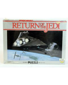 Vintage ROTJ Death Star 70 piece Puzzle C8 MISB