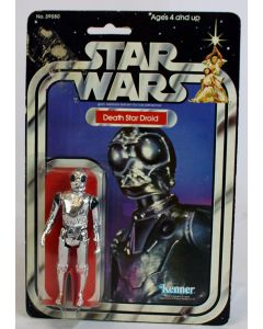 1979 Vintage Kenner Star Wars 21 Back Death Star Droid C5