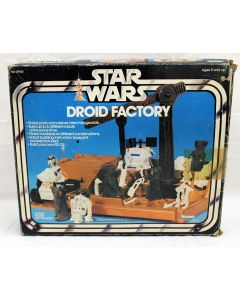 Vintage Kenner Star Wars Droid Factory Playset C7 w/ C5 Box (Missing Tubing and 10 Pins)