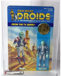 Vintage Kenner Droids TV Series Tig Fromm AFA 80 NM #11312931
