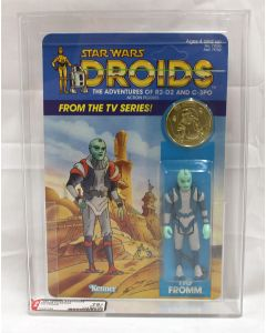 Vintage 1985 Star Wars Droids TV Series Tig Fromm AFA 75+ (C75 B85 F80) #19264398