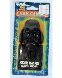 Vintage Star Wars Darth Vader 1980 Wilton Cake Candle, Mint on Card C7
