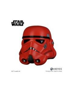 PREORDER: Star Wars Boxed Crimson Stormtrooper Helmet by Anovos