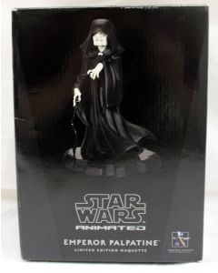 Star Wars Gentle Giant Animated LE Maquette Emperor Palpatine MIB