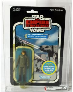 Vintage Kenner Star Wars ESB AT-AT Commander AFA 75 Y-EX+ #19192155