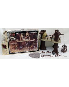 Kenner Vintage Star Wars Boxed ROTJ Ewok Village Action Playset // C8 w/ C4 Box (Missing Decal)