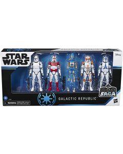 Star Wars Celebrate The Saga Galactic Republic 3.75-Inch Action Figure 5-Pack Set