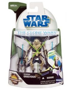 2008 Clone Wars Carded General Grievous