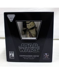 Gentle Giant Commander Neyo Collectible Mini Bust 2007 Convention Exclusive
