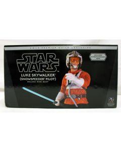 Gentle Giant Luke Skywalker (Snowspeeder Pilot) Deluxe Mini Bust 2013 Premier Guild Exclusive