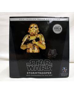 Gentle Giant Stormtrooper Gold Commemorative Mini Bust