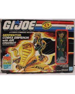 Vintage GI Joe Vehicles Boxed Serpentor with Air Chariot - MISB C6