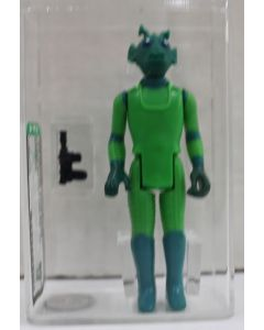 Star Wars Vintage Loose Star Wars Greedo AFA 80+ NM #11954230