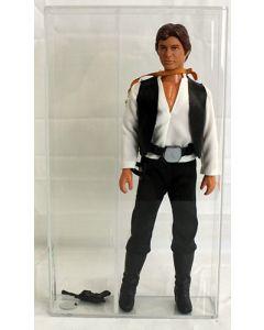 "Star Wars Vintage 12"" Loose Han Solo AFA 85- gun loose in case # 16342772"