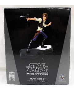 Star Wars Gentle Giant Animated LE Maquette Han Solo MIB