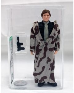 Vintage Loose Star Wars ROTJ Han Solo Trenchcoat (Camo Label / Pink Face) AFA 85 NM+ #11398379