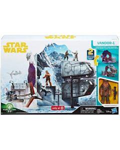 Star Wars Solo Force Link 2.0 Vandor-1 Heist Exclusive Playset with Chewbacca