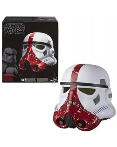 Star Wars The Black Series The Mandalorian Incinerator Stormtrooper Electronic Voice-Changer Helmet Prop Replica