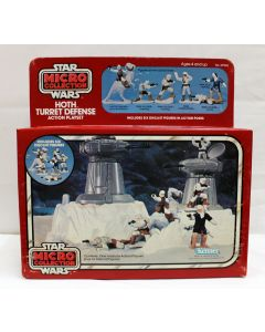 Vintage Star Wars Micro Collection Boxed Hoth Turret Defense - MISB C8