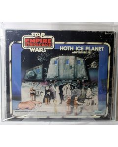 Vintage Star Wars Boxed ESB Playset Hoth Ice Planet AFA 70 #14663062