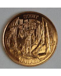 Vintage Ewoks Coin Dulok Scout
