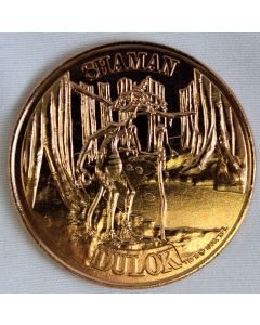 Vintage Ewoks Coin Dulok Shaman