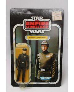Vintage ESB Carded Imperial Commander // C6