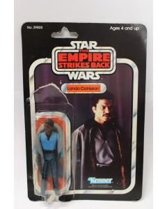Vintage Kenner Star Wars ESB Carded  Lando Calrissian // C1 (Bubbe opened)