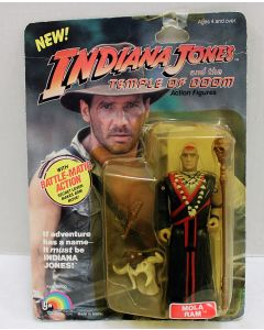 Vintage Indiana Jones LJN Carded Mola Ram // C3