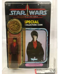 1985 Kenner Star Wars POTF 92 Back Imperial Dignitary // AFA 80+ Y-NM #12282126