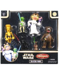 2008 Exclusive Star Tours SW The Muppets Set