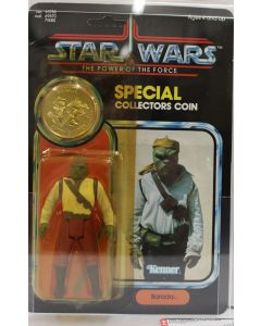 1985 POTF Kenner Vintage Star Wars Power of the Force Barada AFA 75 Y-EX+/NM #11657398