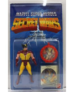 Marvel Super Heroes Secret Wars Wolverine Silver Claws and his Secret Shield AFA 80 NM #11393713