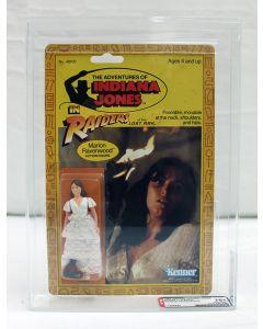 Vintage 1983 Kenner Indiana Jones Series 1/9 Back Marion Ravenwood AFA 75+ #11556544