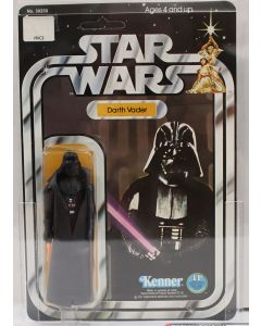 1978 Kenner Vintage Carded Star Wars 12-Back-C  Darth Vader AFA 80 NM #1571107
