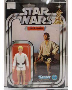 1978 Kenner Vintage Carded Star Wars 12-Back-C Luke Skywalker AFA 80+ NM #11778108