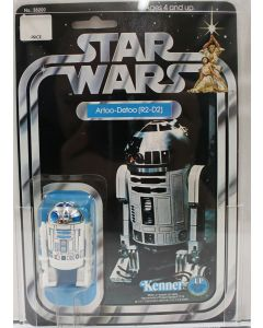 1978 Kenner Vintage Carded Star Wars 12-Back-C  R2-D2 AFA 80 NM #14112054