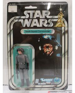 1978 Kenner Vintage Star Wars  20-Back-A  Death Squad Commander AFA 80+NM #19289678