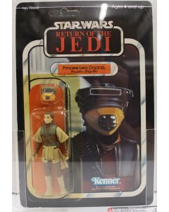 1983 Kenner Vintage  Star Wars Return of the Jedi 65 Back-A  Princess Leia Organa Boushh AFA 75+ Y-EX+/NM #18877066